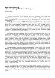 la presentazione di Paolo Labate - Parrocchia Santuario Madonna ...