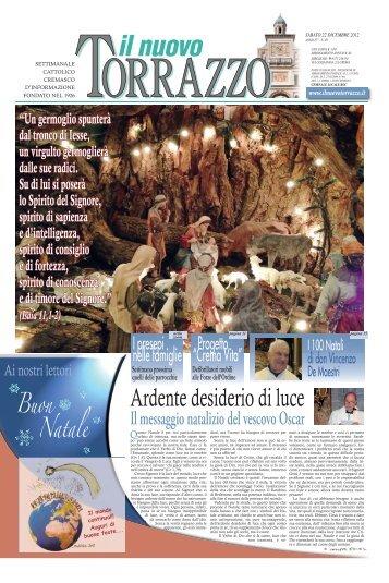 Edizione del 22/12/2012 - Il Nuovo Torrazzo