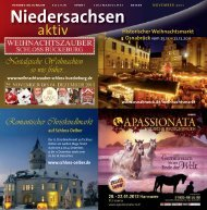 NOVEMBER 2011 Niedersachsen Aktiv