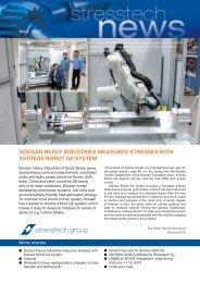 Stresstech News 1/2010 - Stresstech GmbH