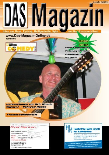 Ausgabe Juli 2011 - Flyer- und Plakatverteilung