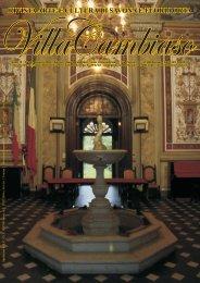 rivista arte e cultura di savona e fuori porta - Villa Cambiaso