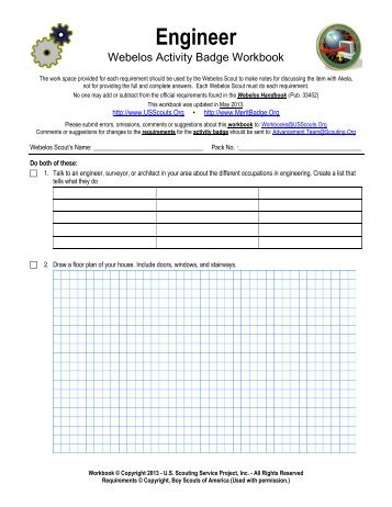 Go Green Merit Badge Worksheet