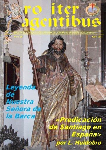 """Formato on line - Asociación Gaditana Jacobea """"Vía Augusta"""""""