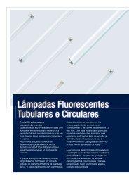 Lâmpadas Fluorescentes Tubulares e Circulares