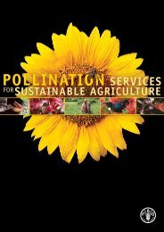 pOLLiNATiON sErvicEs FOr sUsTAiNABLE AGricULTUrE