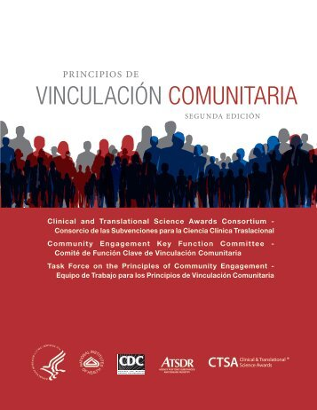 principios de vinculación comunitaria, segunda edición - ATSDR ...