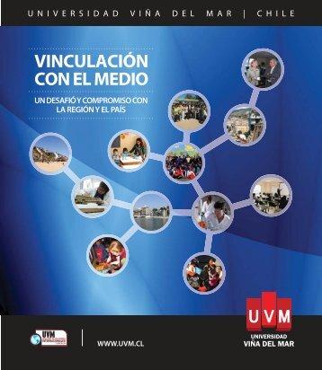VINCULACIÓN CON EL MEDIO - Universidad de Viña del Mar
