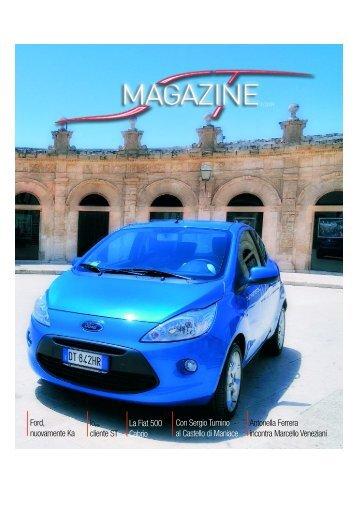 Ford, nuovamente Ka Io, cliente ST La Fiat 500 Cabrio Con Sergio ...