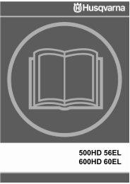 OM, 500 HD56 EL, 600 HD60 EL, 2003-05, EN - Husqvarna