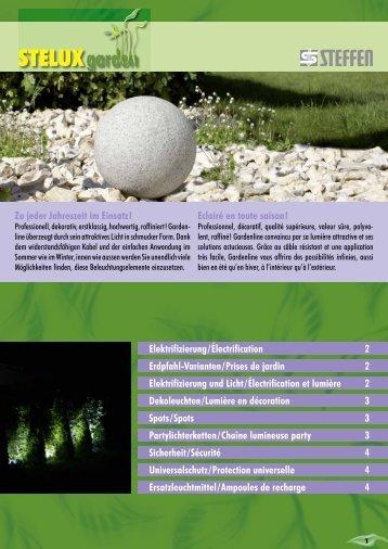 Erdpfahl-Varianten Prises de jardin - Steffen