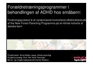 (Microsoft PowerPoint - Opl\346g Forskningens dag.ppt) - Center for ...