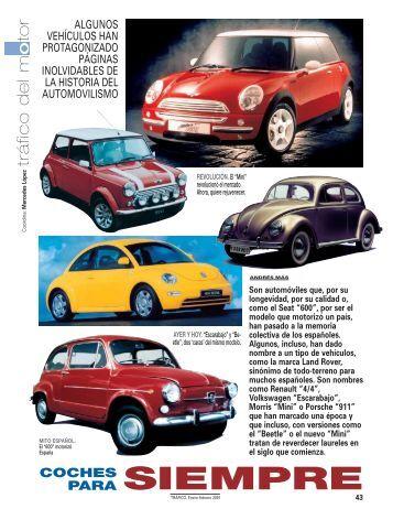 Coches inolvidables en la historia del automovilismo - Dirección ...
