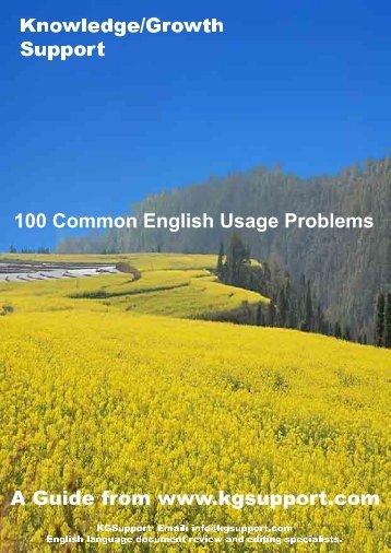 common english problem.PDF