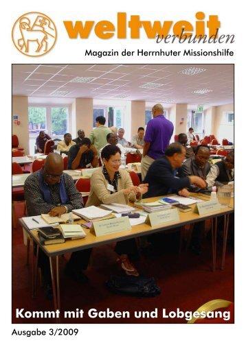 Heft 3-2009 - Herrnhuter Missionshilfe