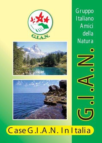 case amiche - GIAN Gruppo Italiano Amici della Natura
