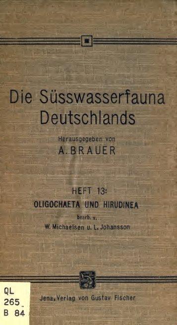 Die Ssswasserfauna Deutschlands. Eine Exkursionsfauna - Drive