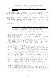 variante parziale 2011 norme tecniche di attuazione - Comune di ...