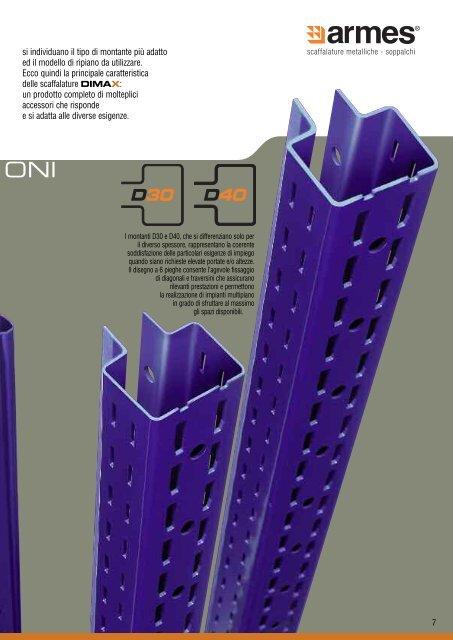 DIMAX Scaffalature multiuso Armes - Download - Ferretto Group