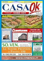 LE NOSTRE PROPOSTE A PAGINA 132 - CASA OK