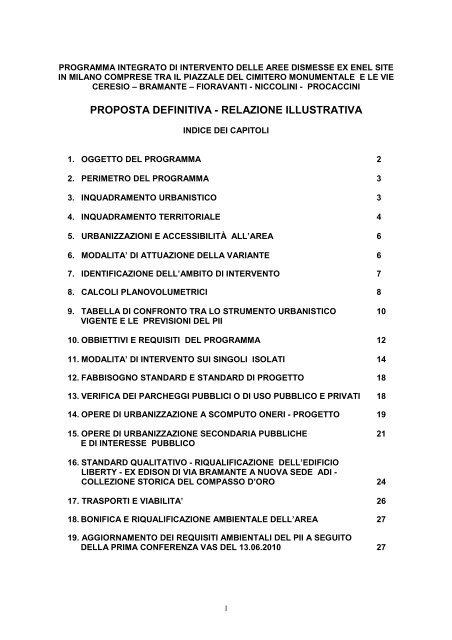 Relazione Tecnica Illustrativa Per Cambio Di Destinazione D'uso Piano Casa  jakarta 2021