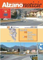Alzano Notizie Primavera 2009 (.pdf 3MB) - Comune di Alzano ...