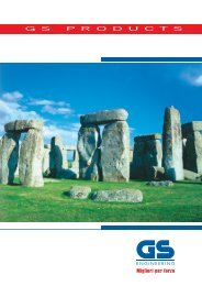 Catalogo generale - GS scaffalature