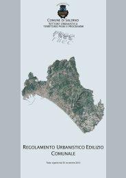 regolamento urbanistico edilizio comunale - Comune di Salerno