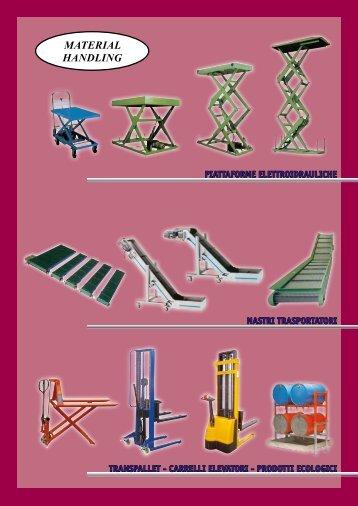 Catalogo Utilizzatori - Conveyors Ind. ASS. S.r.l