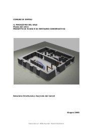 COMUNE DI EMPOLI IL MAGAZZINO DEL SALE Museo del vetro ...