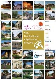 Ville, Country House e Agriturismi di Qualità - La Vie En Rose