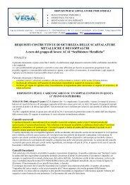 Norme di riferimento per le aperture sui soppalchi - VegaSicurezza