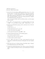MAT1301 Assignment 1 Due date: Friday, Jan 29, 2010 1. Let X, Y ...
