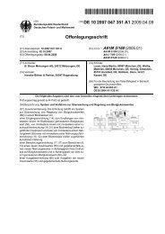 System und Verfahren zur Überwachung und Regelung von ...