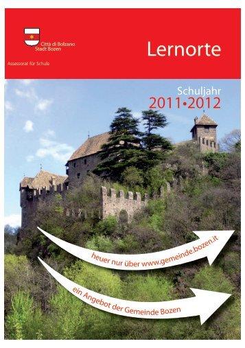 Lernorte - Comune di Bolzano
