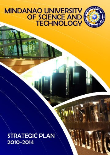 Strategic Plan (Short Version) - Mindanao University of Science and ...