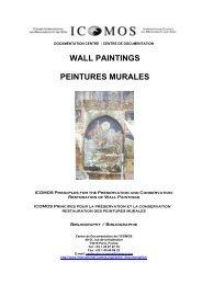 WALL PAINTINGS PEINTURES MURALES - Icomos