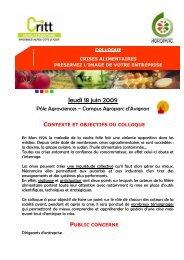 Jeudi 18 juin 2009 - AQMC