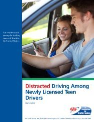 Distracted Driving Among Newly Licensed Teen Drivers - AAA ...