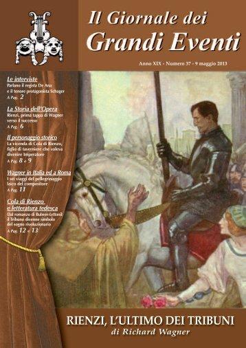 Rienzi - Il giornale dei Grandi Eventi