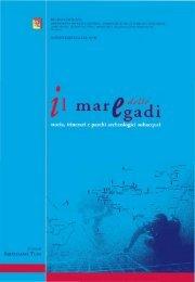 Regione Siciliana Assessorato dei beni culturali ... - egadimythos.it