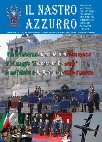 PERIODICO NAZIONALE DELL'ISTITUTO azzurro AZZURRO FRA