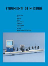 strumenti di misura - Paravia