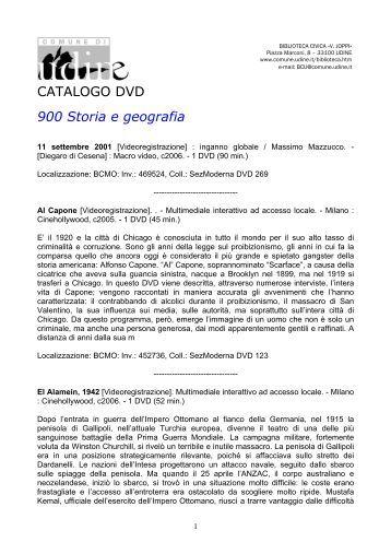 0910-dvd900 - Udine Cultura