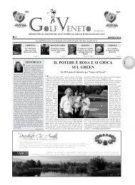 IL POTERE È ROSA E SI GIOCA SUL GREEN - Golf Veneto