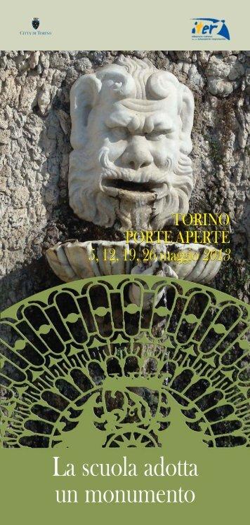 La scuola adotta un monumento - Città di Torino