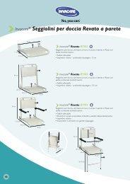 Invacare® Seggiolini per doccia Revato a parete