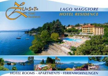 Depliant - hotel lago maggiore