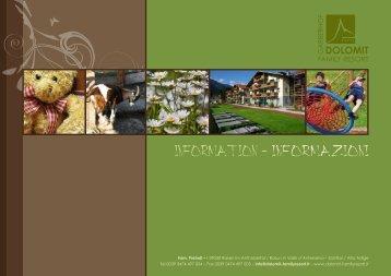 BenvenutI - Dolomit Family Resort Garberhof ****S