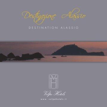 Destinazione Alassio Brochure PDF - Hotel Savoia
